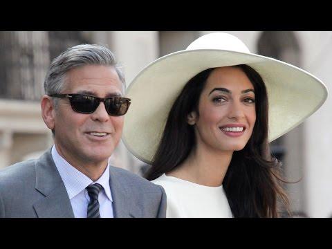 George Clooney & Amal Alamuddin Wedding DETAILS!