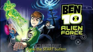 Gambar cover Cara Download Game Ben 10 Alien Force PPSSPP Android