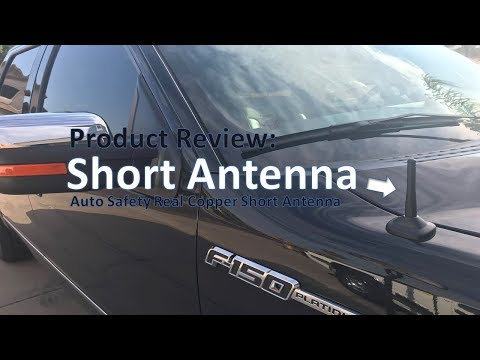 Product Review: Auto Safety  - Real Pure Copper Short Antenna