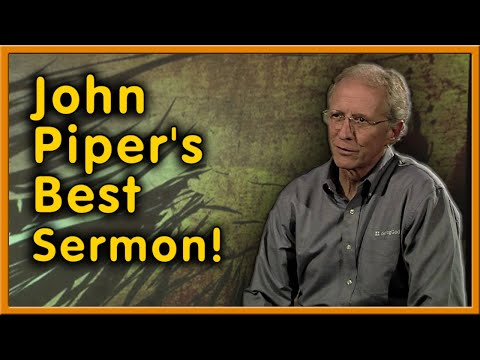 """Don't Abominate the Gospel"" - Great John Piper Sermon!"