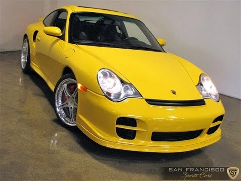 2001 porsche 911 turbo for sale in speed yellow w tiptronic youtube. Black Bedroom Furniture Sets. Home Design Ideas