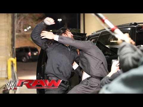 Roman Reigns halts The Authority's escape: Raw, March 21, 20