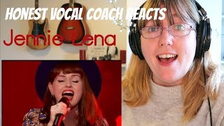 Vocal Coach Reacts to Jennie Lena 'Who's Loving You' The Blind Auditions - The Voice of Holland 2015
