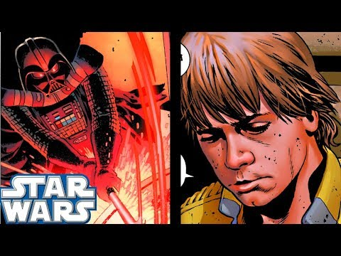 How Darth Vader Made Luke QUIT!!(CANON) - Star Wars Comics Explained