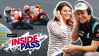 MotoGP 2019 France: Quartararo & Vanessa Play Whisper Challenge | Inside Pass #5