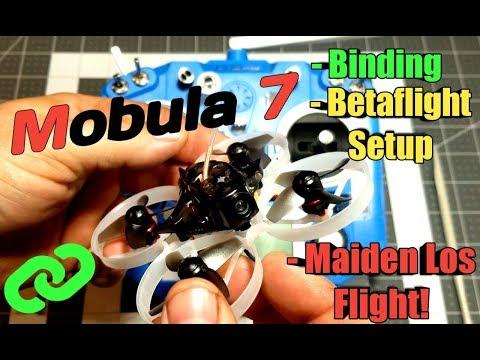 Mobula 7 Binding/Betaflight and Maiden LOS Flight!