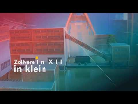 Schachtanlage Zollverein XII - das Modell