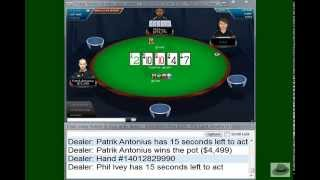 crazy action tbl 300 600 100 ante plo part 1 of 2