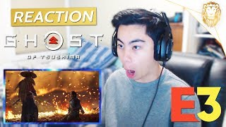 Ghost of Tsushima World Premiere Gameplay Trailer (Official) - REACTION!!!