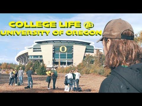 College Life: 1st Month @ University of Oregon