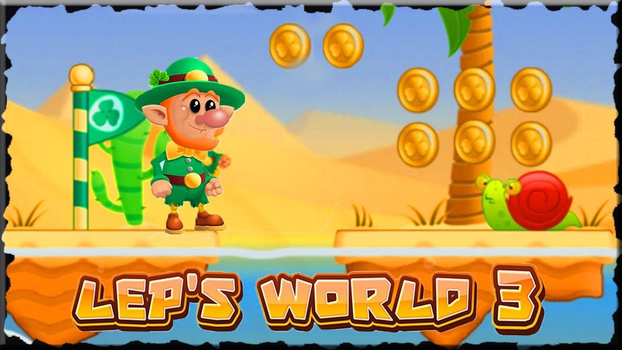 Lep S World 3 Desert Mobile Game Youtube