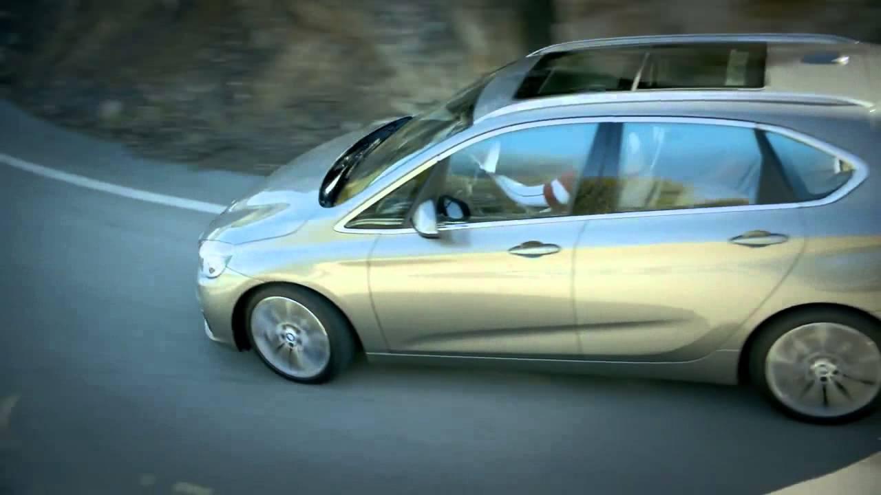 BMW Série 2 Active Tourer. Filme de lançamento.