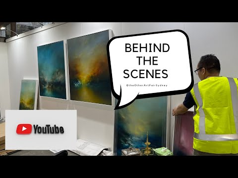 Behind the scenes: The Other Art Fair Sydney.