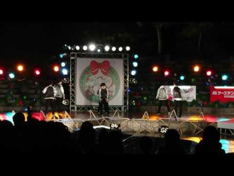 高松高校ダンス部⑥ 高松冬のまつり2016.12.22