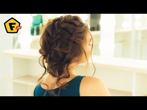 Практические видеоуроки и фото как заплести косу водопад
