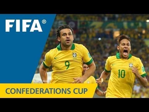 Brazil 30 Spain FIFA Confederations Cup 2013