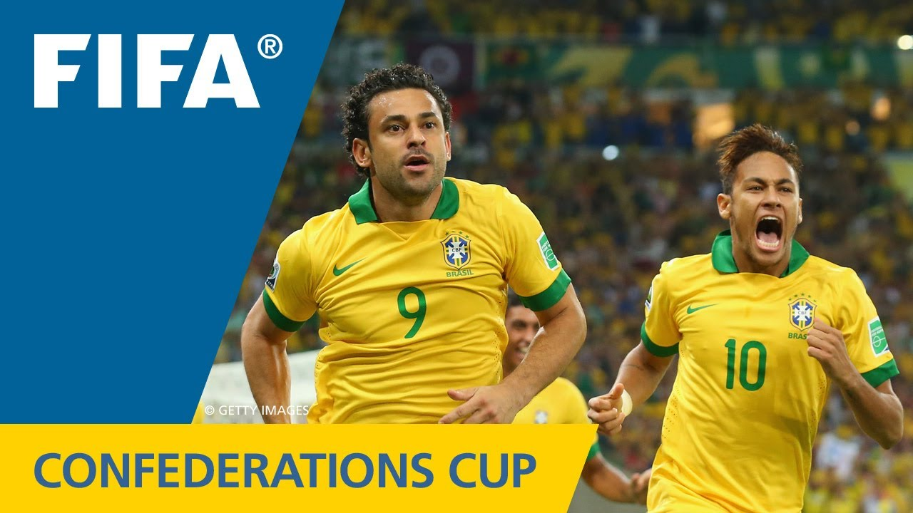 Brazil 3 0 spain fifa confederations cup 2013 youtube