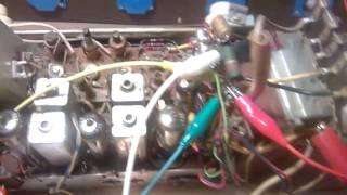 Reparación de la BF de una Telefunken Teak Jubilate 1261 (1961-62)