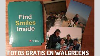 GRATIS 10 fotos de tamaño 4x6 gracias a Walgreens paso a paso