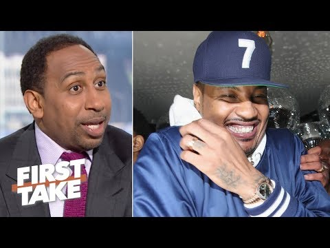 Carmelo Anthony could change his legacy by joining the Lakers – Stephen A.   First Take