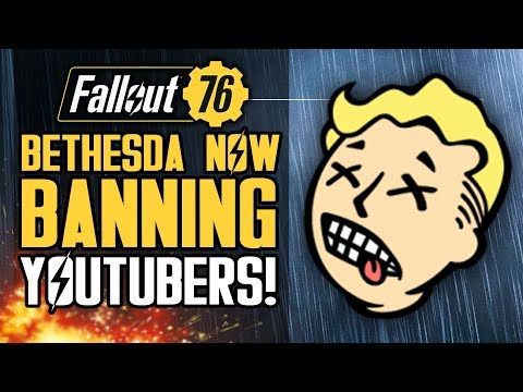 Fallout 76 - Bethesda Banning YOUTUBERS!  Stash Size Increase?  Energy Weapons Feedback! thumbnail