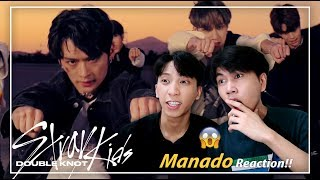 """Baixar (OMG!!😱🔥) Stray Kids """"Double Knot"""" M/V REACTION   Indonesia"""