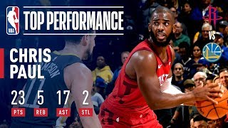 Chris Paul ERUPTS On Offense In Oracle! | February 23, 2019