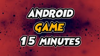 Making An Android Game in 15 Minutes - Unity ( 2020 )