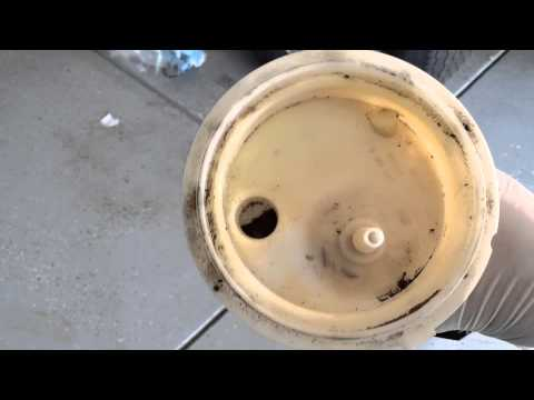 2007 E60 BMW 5 Series fuel filter DYI - YouTube