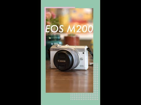 Canon's entry-level EOS M200 offers eye detection and 4K video