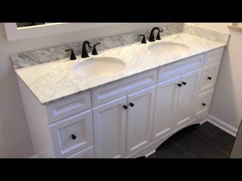 "eBay Bathroom Remodel Renovation - Talisa 72"" Double Bathroom Vanity"