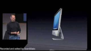 Apple Special Event August 2007: Introduction of the first aluminum iMac