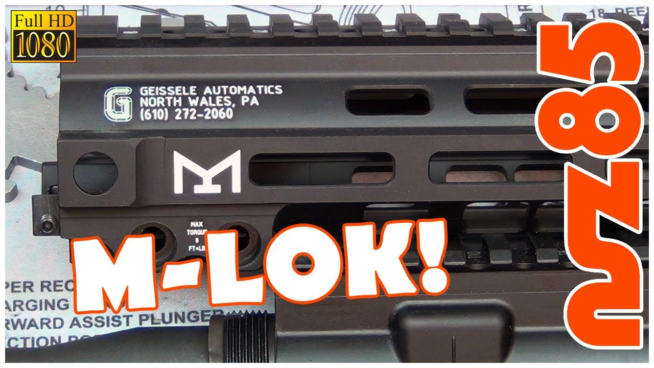 AR-15 - NEW Geissele Mk8 SMR Installation & Overview - M-Lok!