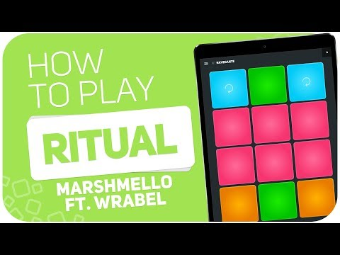 How to play: RITUAL Marshmello ft. Wrabel  SUPER PADS  Kit Nast