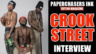 Paperchasers Ink - Tattoo Magazine - Interview with Crook Street - Issue #1