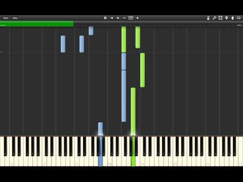 Kan Gao - Once Upon A Memory (Piano) Synthesia tutorial