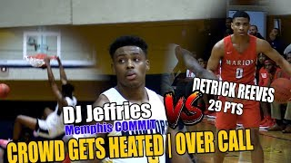 Memphis Commit DJ Jeffries Leads Olive Branch over Tough Marion Squad Crowd Gets Heated