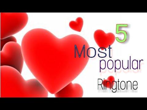 5 MOST POPULAR RINGTONE | 100% LOVE |  NEW RINGTONE