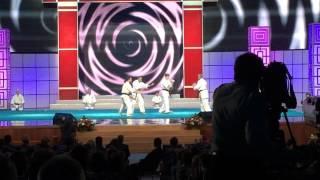 Уэчи-рю Каратэ-до в Кремле 2014 (любительское видео)(Бойцы