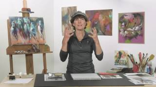 Creative Art Class with Dawn Emerson: Mark Making and Drawing (Trailer)