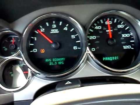 2008 Silverado Gas Mileage