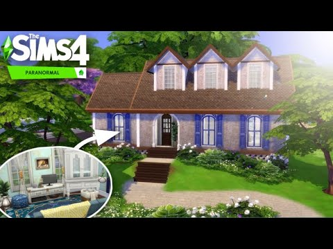 Spooky Suburban 👻/ The Sims 4 Paranormal Stuff Pack Speed Build  