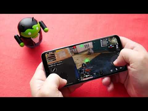 Samsung Galaxy A50, тест тяжелых игр.