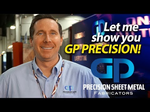 Precision Sheet Metal Fabricators - Tour With TJ Keane From GP Precision