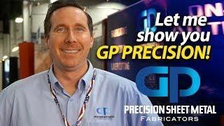Precision Sheet Metal Fabricators - Tour with TJ Keane from GP Precision