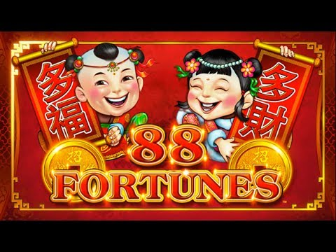 88 FORTUNES AND 5 TREASURES SLOT MACHINE BONUSES