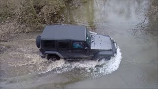 Awesome Jeep Creek Crossing - Who Needs A Bridge When You Own A Jeep?