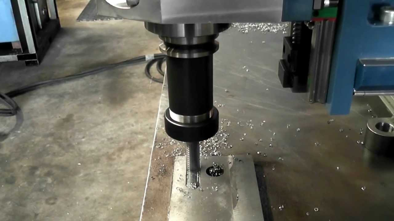 Portable Milling Machine Field Machine Tools Youtube