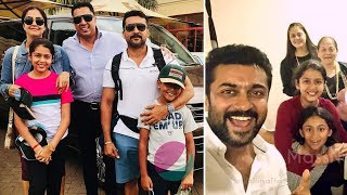Actor Surya Family Members | Wife Jyothika, Daughter, Son, Brother, Sister Photos & Biography