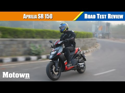 Aprilia SR 150 Road Test Review